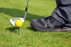 golf ball.JPG - stock photo