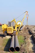 gas pipeline.JPG - stock photo