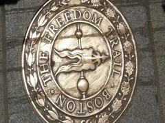 The Freedom Trail in Boston - stock footage