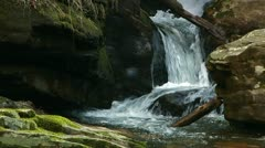 Mountain Stream Headwaters 2 Stock Footage
