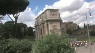 Stock Video Footage of Colosseum in Rome