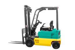 Fork-lift.jpg Stock Photos