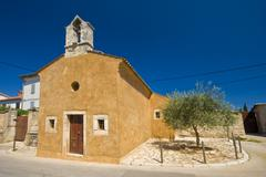 St.Joseph`s church in Galizana - stock photo
