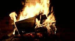 Fire palse Stock Footage