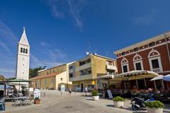Stock Photo of Novigrad square