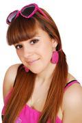 teenage girl portrait55.JPG - stock photo