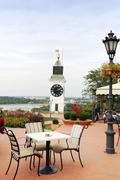 petrovaradin tower clock.jpg - stock photo