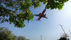 Airline Landing 11 HD - stock footage