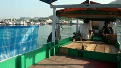 Boat people of Flores - Indonesia Stock Footage
