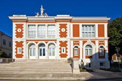 Porec theatre building - stock photo