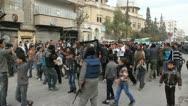 Aleppo Syria Protest  Stock Footage