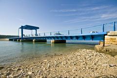 Antenal bridge near Novigrad Stock Photos
