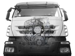 Front of truck.jpg Stock Photos