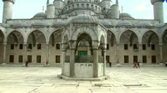 Istanbul Blue Mosque-Sultan Ahmet Mosque Stock Footage