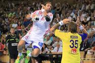 Croatian Handball Player Ivano Balic Stock Photos