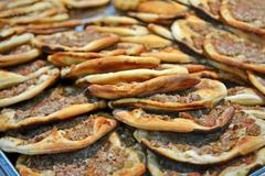 delisious blin heap, roasted food - stock photo