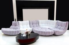 new modern bed.JPG - stock photo