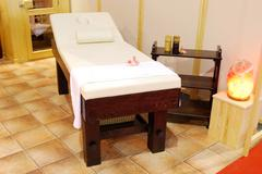 massage bed.JPG - stock photo
