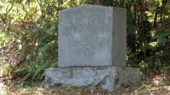 1080p Cemetery Tombstones Graveyard 15 Stock Footage