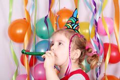 little girl birthday party112.JPG - stock photo
