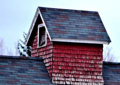 Stock Photo of Barn Roof