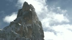 Mountain peak Stock Footage