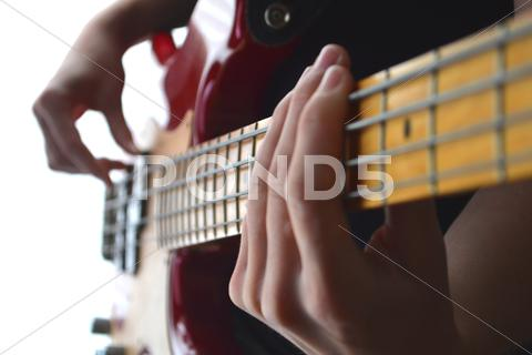 Stock photo of Bass Guitar