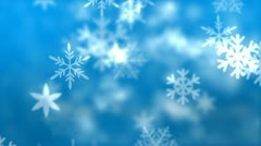 Christmas Snowflakes - stock after effects