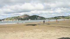 Nicaragua Beach Stock Footage