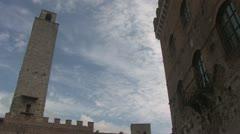 San Gimignano Stock Footage