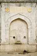 One example of the ottoman period fountains Stock Photos