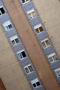 windows of building - stock photo