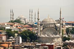 Mosques of istanbul Stock Photos