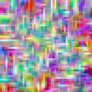 Bright rainbow colors grid matrix abstract pattern. Stock Illustration