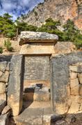 ancient Arykanda, HDR photography - stock photo