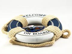 safe belt - stock photo