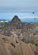 Stock Photo of air balloon trip at Cappadocia