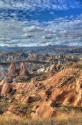 Stock Photo of Famous cave city  Cappadocia at Turkey, HDR photography