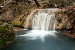Kursunlu waterfall - stock photo
