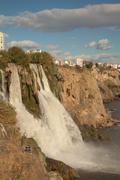 Duden waterfall - stock photo