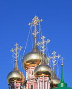 Cupola of church Stock Photos