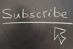 Subscribe Stock Photos