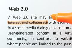 web 2.0 - stock photo
