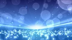 Blue Bubbles Stock Footage