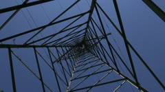 power pylon - stock footage
