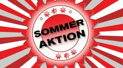 Sommer Aktion Stock Footage