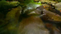 mountain river - slow motion - stock footage