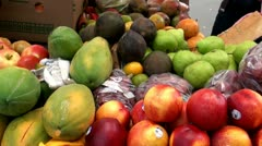 Fruits, Fresh Foods, Healthy, Natural Stock Footage