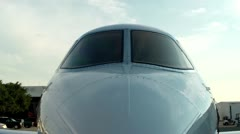Hawker Nose Stock Footage