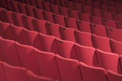Stock Photo of theater seating